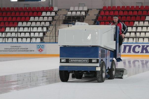 Ледовый дворец Псков. Техническое обслуживание