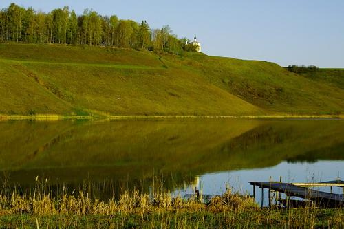 Городищенское озеро, Старый Изборск