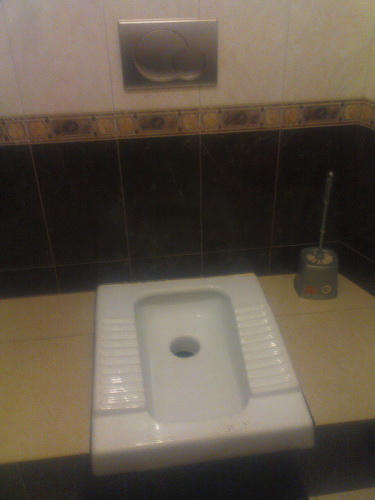 г. Остров, бар Малахит. Туалет