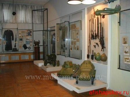 23 июля можно бесплатно посетить экспозицию «Псковский край в годы войны»