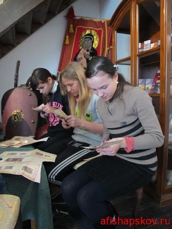 Изборский музей-заповедник придумал интерактивную программу для школьников