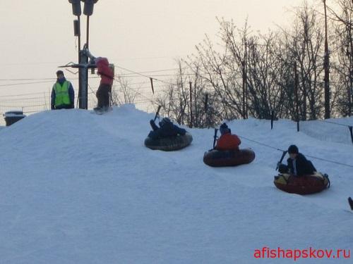 Снегопад Псков