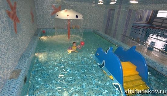 Детский бассейн на электроне