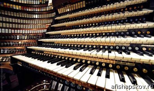 Органный концерт состоится в Печорах 2 мая