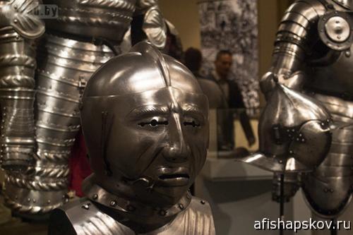 Выставки Псков. Средневековые доспехи