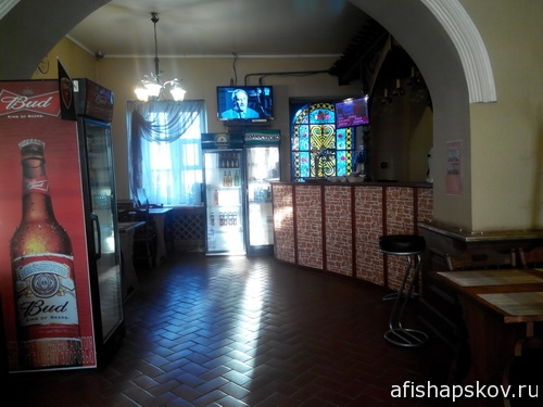 Кафе странник в Новгородке