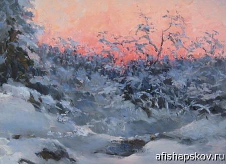 Выставка живописи Геннадия Алексеева «Времена года» откроется в Пскове