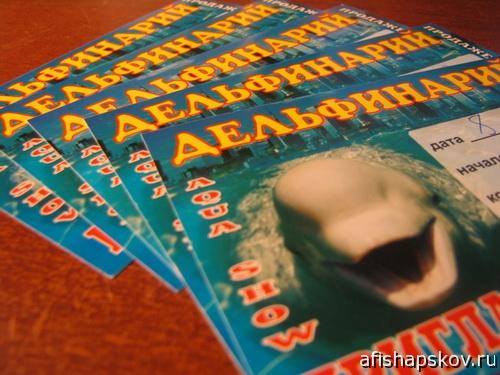 Билеты в дельфинарий псков