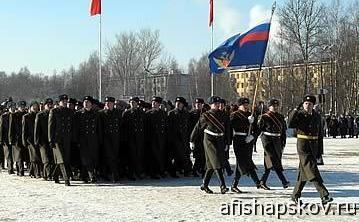 Военный парад Псков