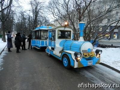 Детский парк Пскова