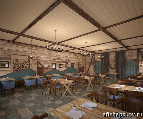 ресторан на острове Залита