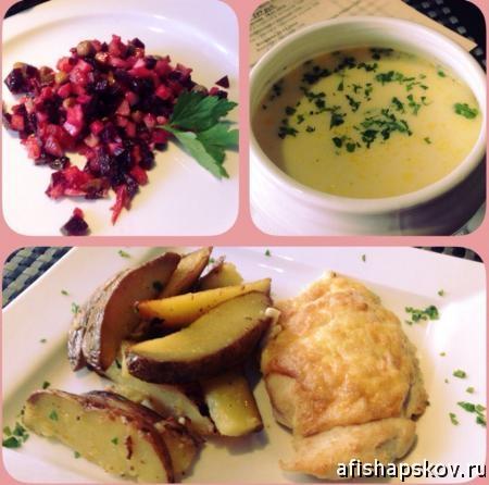 обед в псковских кафе