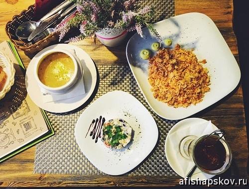 Обед в Пскове