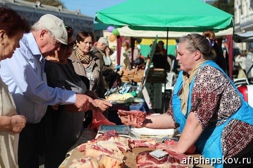 Рынок в Пскове