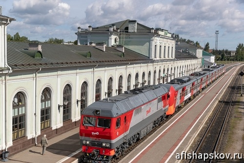Псков - Санкт-Петербург поезд «Ласточка»