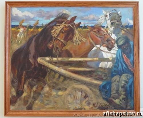 «Возвращение с конской ярмарки», Николай Пирогов 1907 г