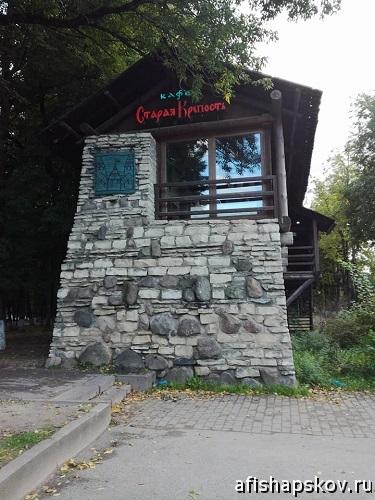Старая крепость псков