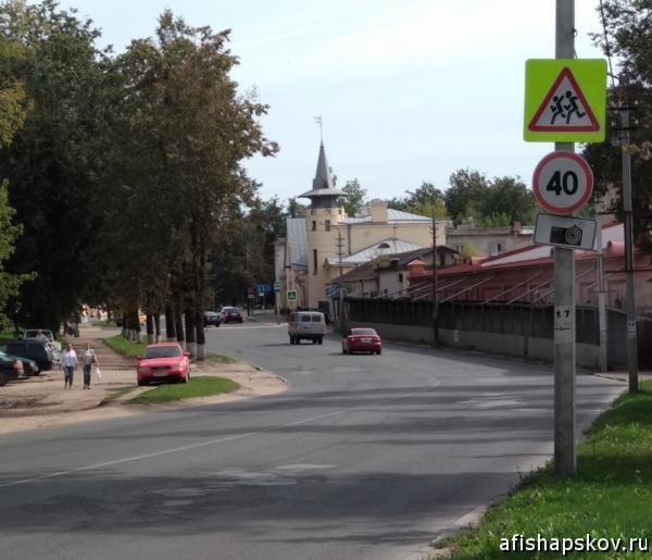Улица Поземского псков