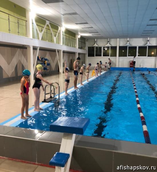 Занятия по плаванию Псков