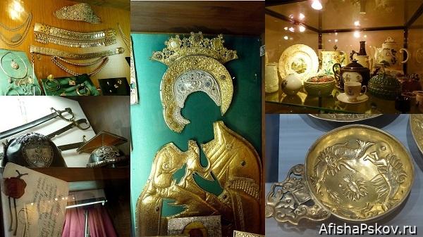 Сокровища псковского музея
