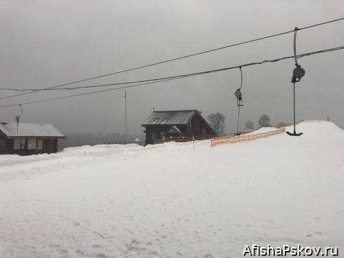 Мальская долина. Прокат лыж