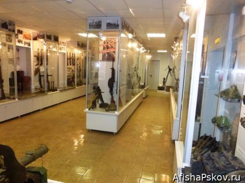 Военно-исторический музей в Острове